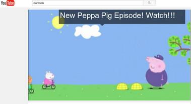 Ver dibujos animados gratis en YouTube
