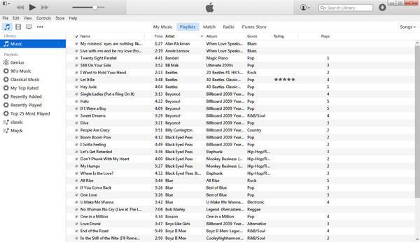 Sincronice sus archivos con el iTunes