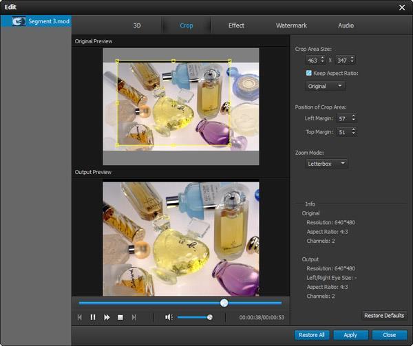 Editar sus videos MOD