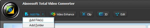 Importar sus archivos FLAC para el programa convertidor