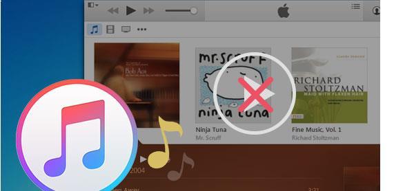 El iTunes no reproduce las músicas