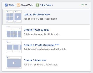 Enviar videos al Facebook