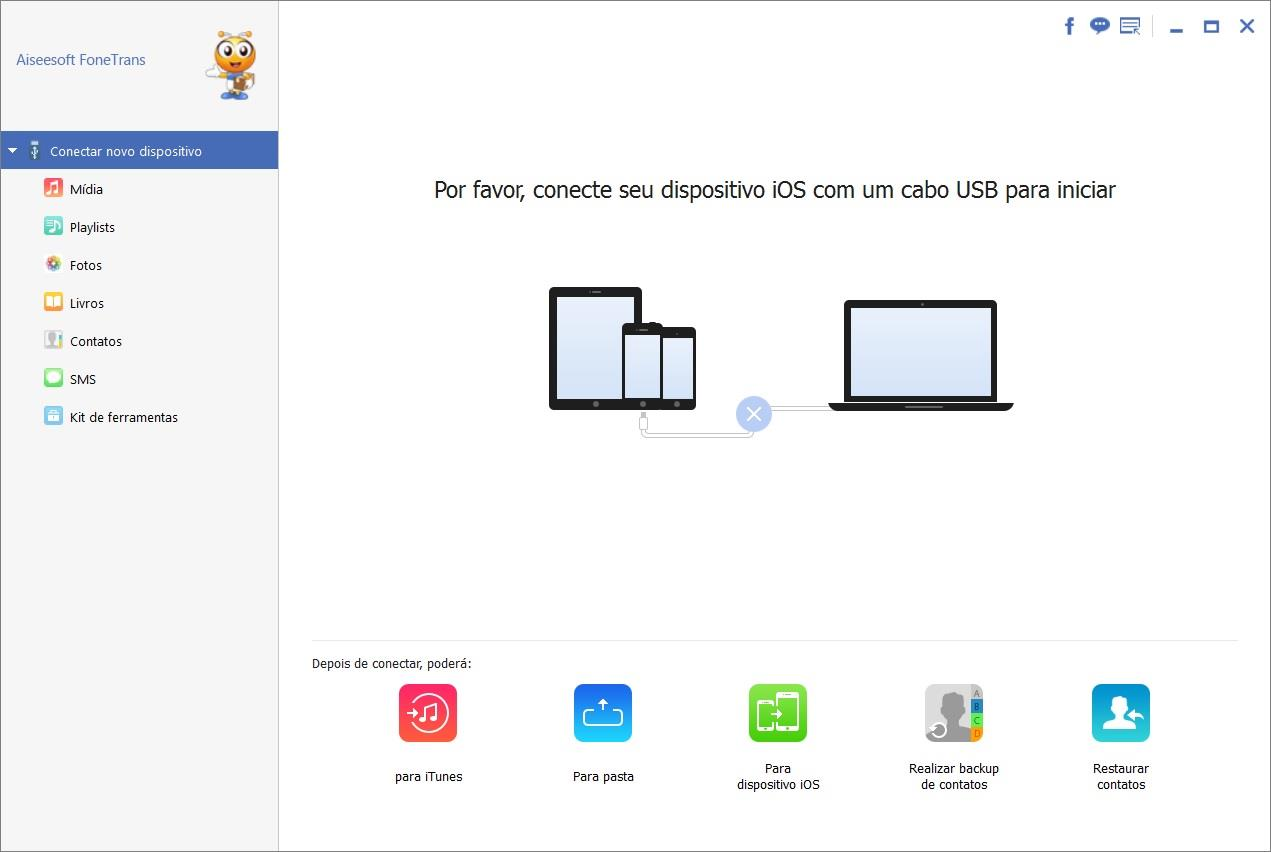 Aiseesoft FoneTrans transferir archivos iphone