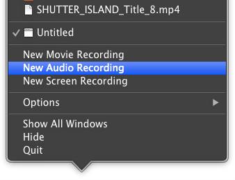Nueva Grabación de Audio
