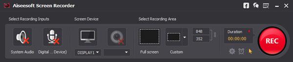 Abrir el Screen Recorder