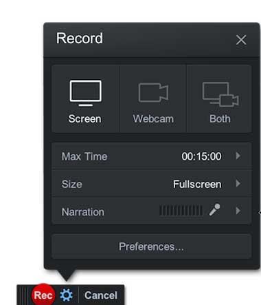 Screencast-O-Matic para Mac