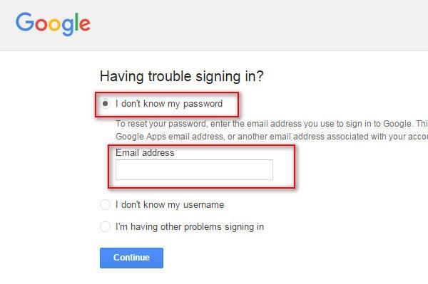 Insertar su dirección de e-mail