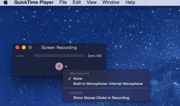 Grabar la pantalla de su Mac