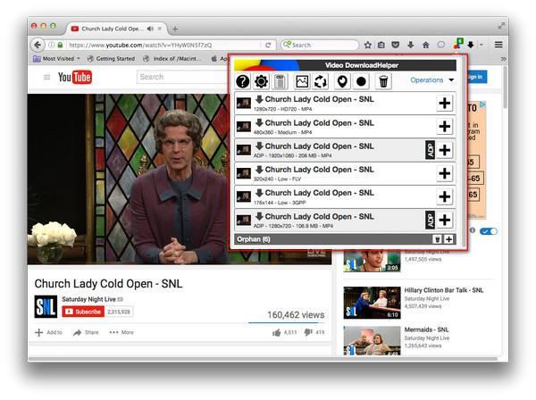 Descargar videos del YouTube con el FireFox