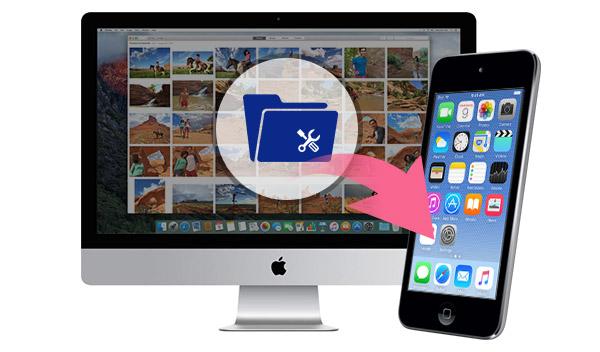 Gerenciar archivos del iPod en el Mac