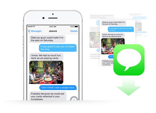 ¿Cómo guardar mensajes de texto del iPhone en el PC?