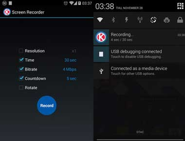 Screen Recorder for KitKat