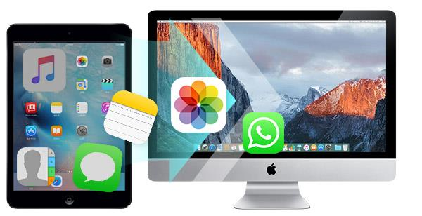 Transferir archivos del iPad a un Mac