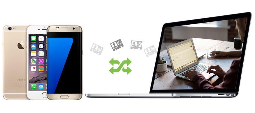 Transferir sus contactos del celular al PC