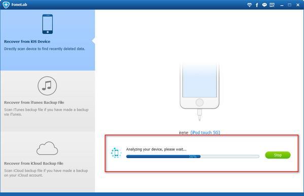Analizar su iPod