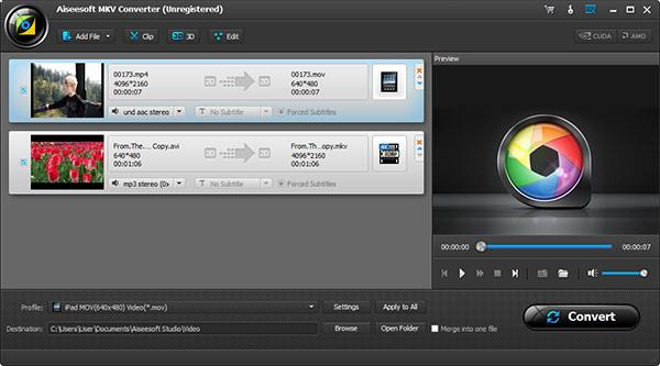 Abrir el programa Video Converter Ultimate para convertir de MKV a MP4