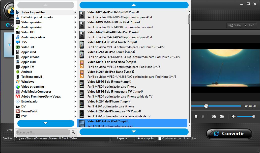 Añadir sus archivos de video ARF al programa