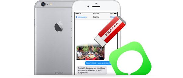 apagar mensagens iPhone