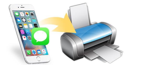 ¿Cómo imprimir mensajes de texto de un iPhone?