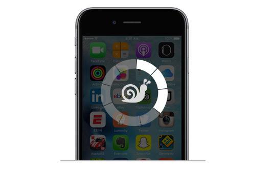 iPhone lento - resolver com FoneEraser