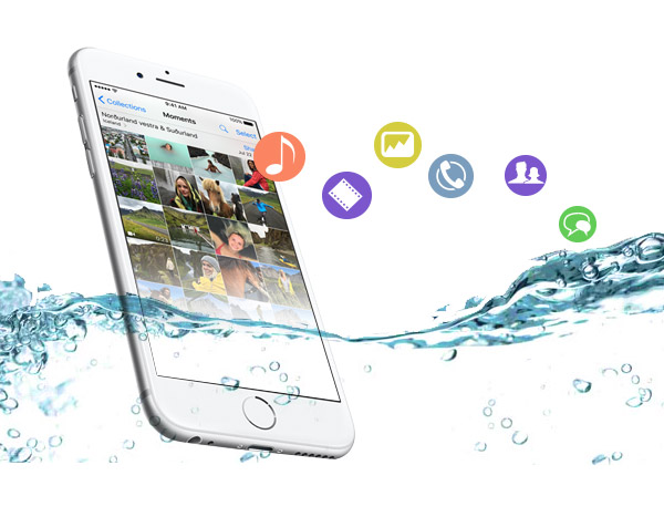 Recuperar iPhone dañado FoneLab