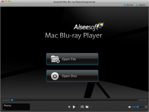 Abrir su disco Blu-ray en el Mac