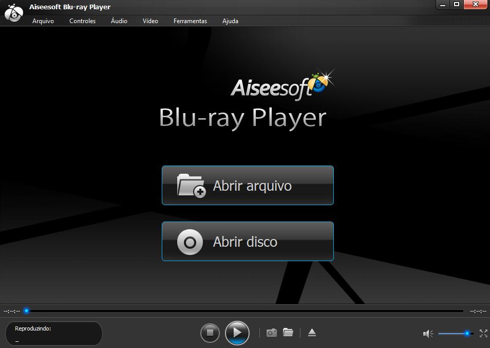 Abra o reprodutor blu-ray da Aiseesoft Blu-ray Player
