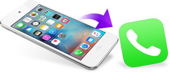 Recuperación de historial y registro de llamadas de un iPhone con FoneLab