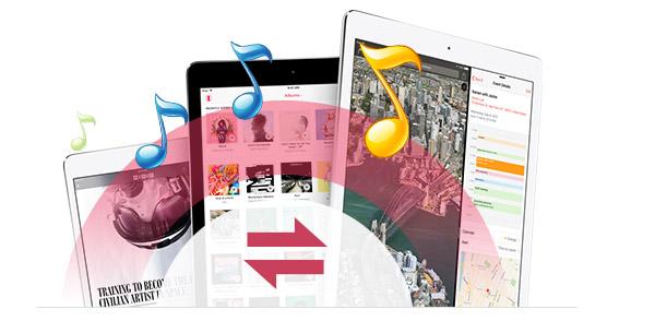 Transferir canciones de un iPad a otro