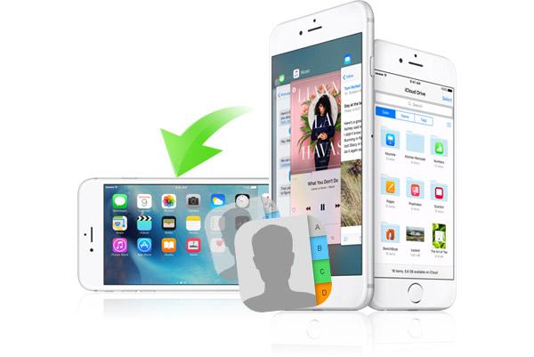Transferir contatos iPhones FoneTrans