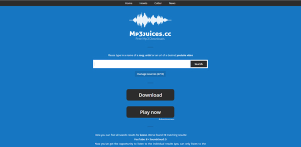 Alternativa ao BeeMP3 MP3Juices ScreenRecorder