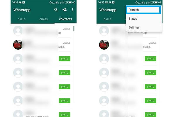 Añadir Contactos WhatsApp Android FoneTrans