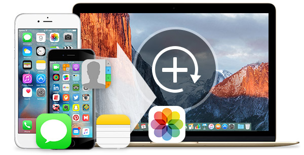Backup dados do iPhone para Mac FoneLab