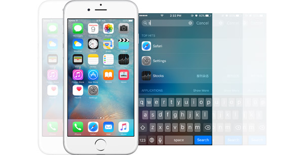 Busca Spotlight iPhone