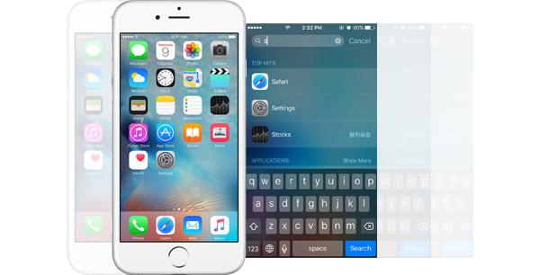 Búsqueda Spotlight iPhone