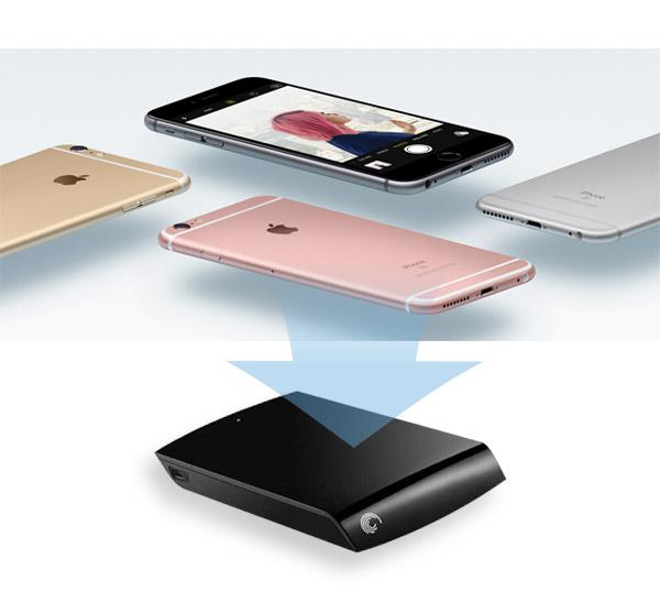 Copia de seguridad iPhone HD Externo FoneTrans