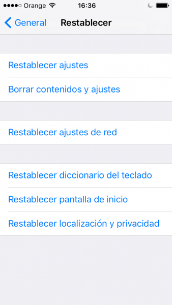 Paso 2 Restaurar iphone sin actualizar FoneLab