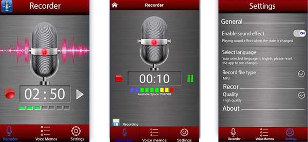 Mejores Grabadores de Música Android ScreenRecorder