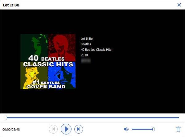 Paso 3 Gestionar contenido canciones FoneTrans