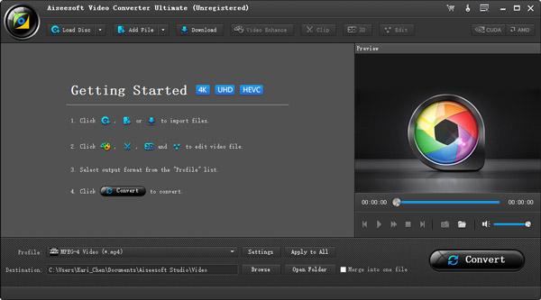 Passo1 Importar vídeos e DVDs iTunes Video Converter Ultimate