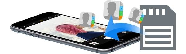 Recuperar contatos iPhone