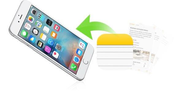 Recuperar notas iPhone - FoneLab