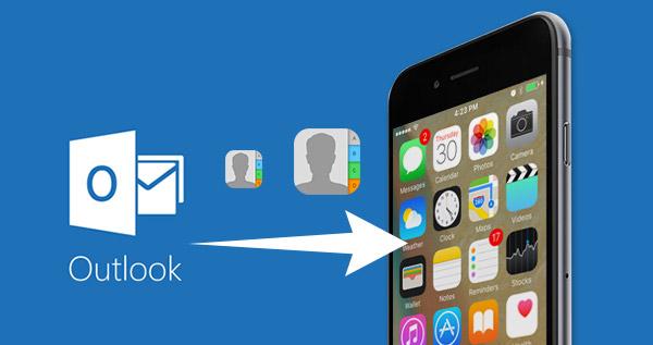 Sincronizar Contactos Outlook iPhone FoneTrans