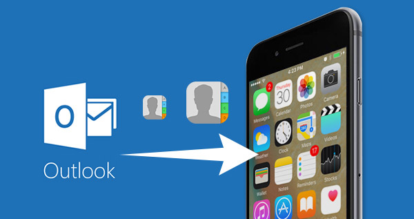 Sincronizar Contatos Outlook iPhone FoneTrans