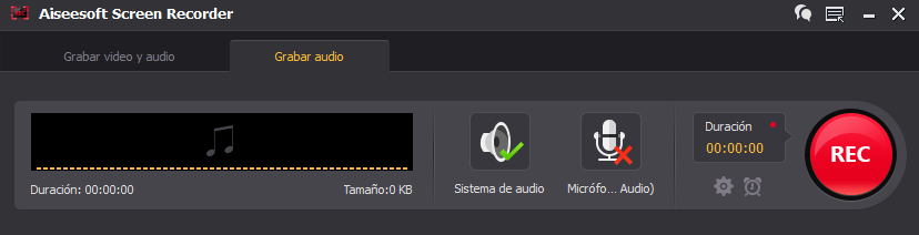 Grabador de audio del PC