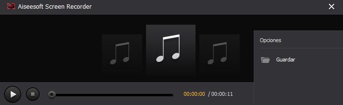 Guardar audio en streaming - Spotify