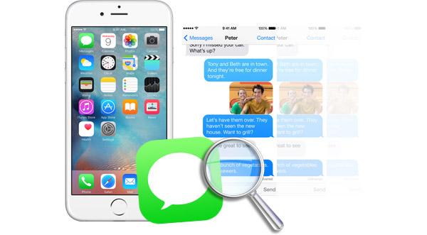 Buscar mensajes iPhone