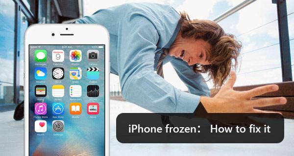 Consertar iPhone congelado