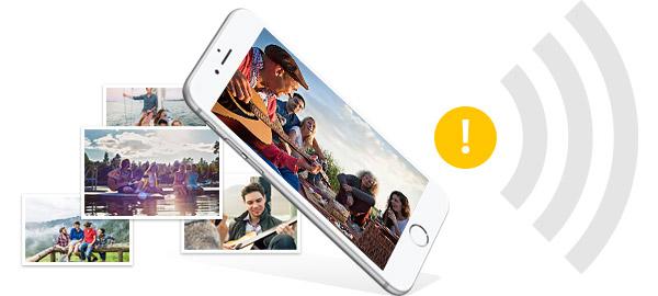 Consertar iPhone não envia fotos