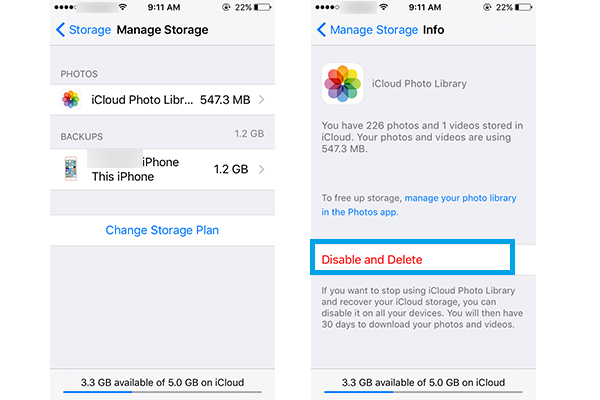 Delete All Photos from iPhone At Once - Oaily]